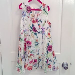 Patpat Girls Floral Dress New with Tags Size 8-9y